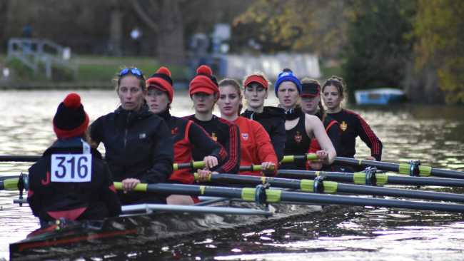 Image ofWinning performance from Jesus rowers in Fairbairn Cup