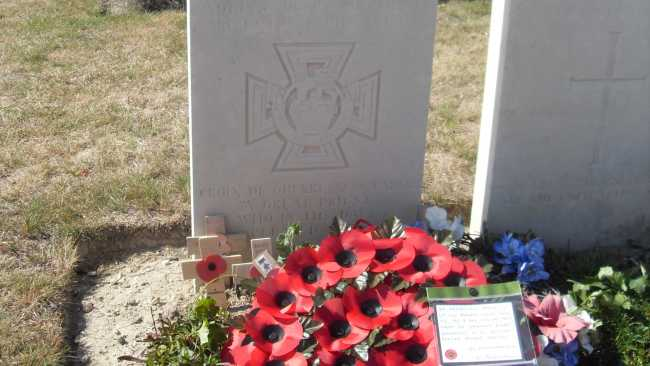 Image ofCommemoration to be held for WWI hero
