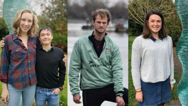 Image ofGood luck to our 2019 Boat Race quartet
