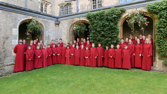 Image ofCollege Choir release new CD: BYRD | BRITTEN