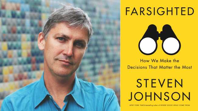 Image ofMaking better decisions with Steven Johnson at the Intellectual Forum