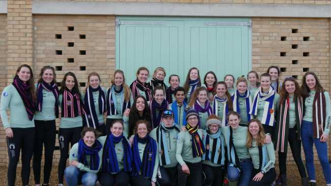 Image ofJesus College student selected for Women's Boat Club squad