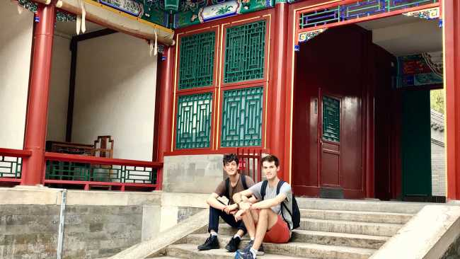 Image ofFrom Cambridge to Peking: students receive travel bursaries to visit China
