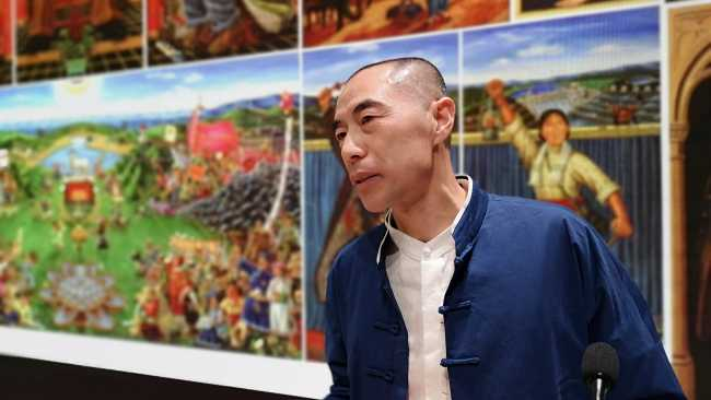 Image ofPainting in China today: the art of Liu Dahong