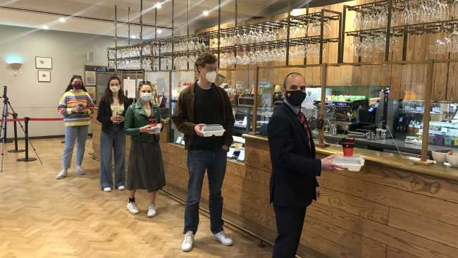 Image ofChange is on us! Jesus College ditches single-use takeaway packaging in sustainability push
