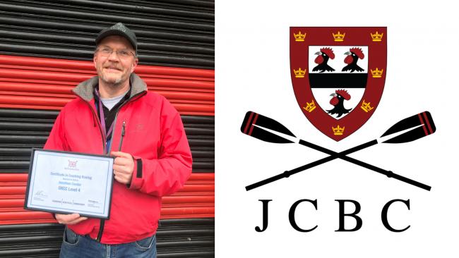 Image ofJCBC Head Coach achieves highest coaching qualification