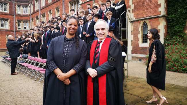 Image ofNew Master Sonita Alleyne OBE welcomed to College