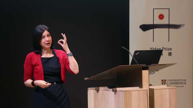 Image ofProfessor Usha Goswami wins the 2019 Yidan prize for education research