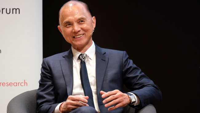 Image ofJimmy Choo 'In Conversation' in College