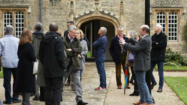 Image of'The Fortieth': Jesus College marks 40 years of mixed education