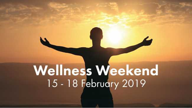 Image ofWellness Weekend programme launched