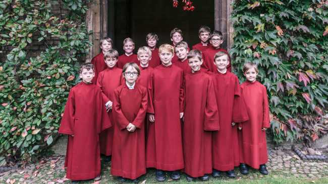Image of Jesus College choristers