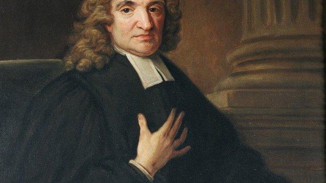 Image of Portrait of John Flamsteed