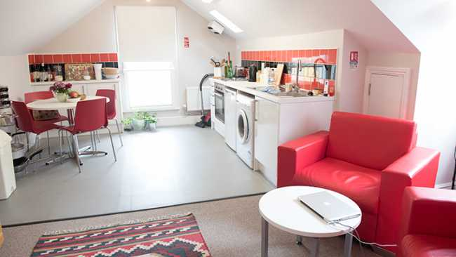 Image of Graduate flat for couples