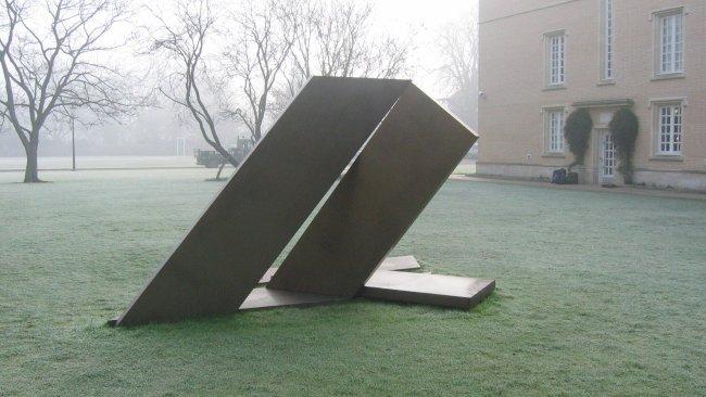 Image of College statue