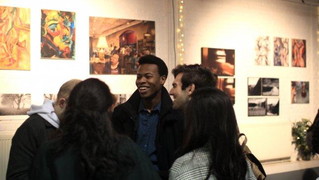 Image of The John Hughes Arts Festival Open Hang Gallery