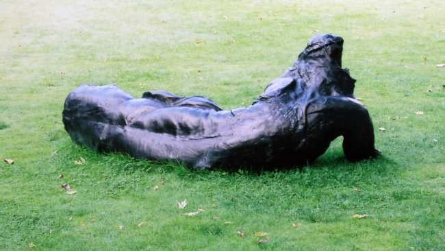Image of Lounging Figure (Rabbit) by Marc Quinn