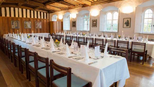 Image of Dinner in the Upper Hall