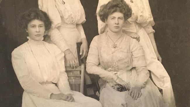 Photo of Master Morgan's daughters