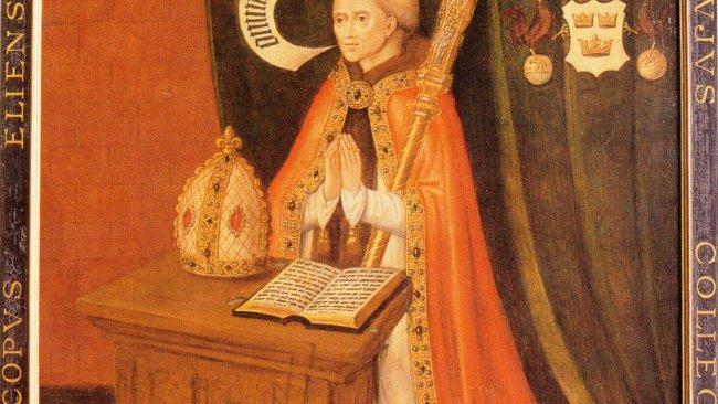 Image of Portrait of Bishop Alcock