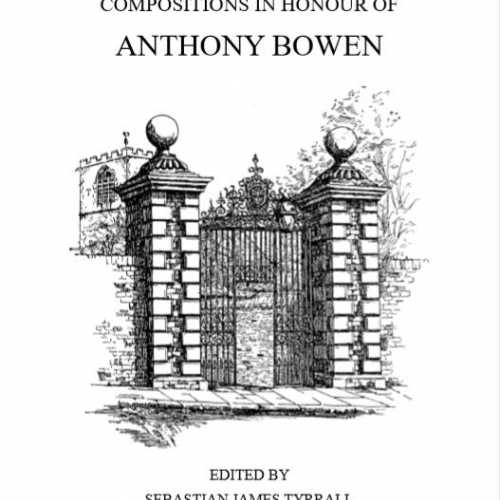 Image of Compositions in Honour of Anthony Bowen